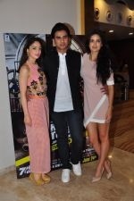 Sandeepa Dhar, Shiv Pandit, Natasa Stankovic at the screening of 7 Hours To Go on 14th June 2016 (35)_5760d8fd62c58.JPG