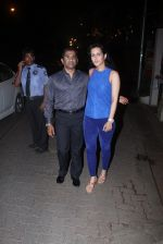 Tulip Joshi, Vinod Nair snapped at Corner House in Bandra on 14th June 2016 (4)_5760da1203fed.JPG