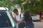 Saif Ali Khan snapped with his kids Ebrahim and Sara on 15th June 2016 (12)_5762424d45475.JPG