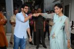 Sonam Kapoor, Aditya Thackeray at Neerja Bhanot tribute event at a school on 15th June 2016