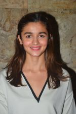 Alia Bhatt at Udta Punjab screening hosted by Alia Bhatt in Lightbox on 16th June 2016