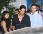 Arjun Rampal snapped post dinner in Bandra on 16th June 2016