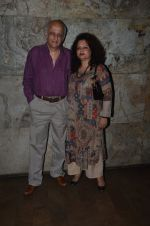 Mukesh Bhatt at Udta Punjab screening hosted by Alia Bhatt in Lightbox on 16th June 2016