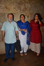 Pankaj Kapur, Supriya Pathak, Sanah Kapoor at Udta Punjab screening hosted by Alia Bhatt in Lightbox on 16th June 2016
