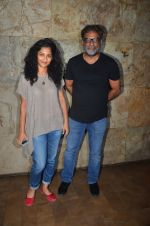 R Balki, Gauri Shinde at Udta Punjab screening hosted by Alia Bhatt in Lightbox on 16th June 2016