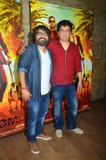 Sajid Nadiadwala , Pritam Chakraborty at song launch from movie Dishoom in Mumbai on 16th June 2016