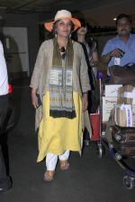 Shabana Azmi snapped at airport on 16th June 2016