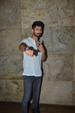 Shahid Kapoor at Udta Punjab screening hosted by Alia Bhatt in Lightbox on 16th June 2016