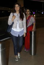 Twinkle Khanna leaves for vacation in Mumbai on 16th June 2016