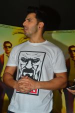 Varun Dhawan at song launch from movie Dishoom in Mumbai on 16th June 2016