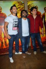 Varun Dhawan, Sajid Nadiadwala , Pritam Chakraborty at song launch from movie Dishoom in Mumbai on 16th June 2016 (43)_5763979ec967b.JPG