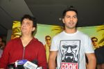 Varun Dhawan, Sajid Nadiadwala at song launch from movie Dishoom in Mumbai on 16th June 2016