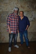 Vikram Bhatt, Mahesh Bhatt at Udta Punjab screening hosted by Alia Bhatt in Lightbox on 16th June 2016