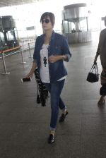 Dia Mirza snapped at airport on 17th June 2016