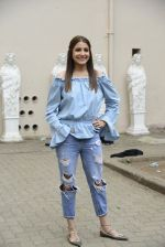 Bollywood actress Anushka Sharma during the press conference of film Sultan, in Mumbai, India on June 18, 2016 (9)_576645c1bf504.JPG