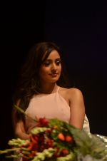 Neha Sharma during the launch of Young Bhartiya Foundation, an initiative by Ameya Pratap Singh in Mumbai, India on June 18, 2016 (3)_576629b3038d3.JPG