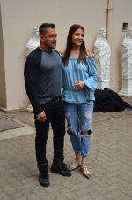 Salman Khan and Anushka Sharma during the press conference of film Sultan, in Mumbai, India on June 18, 2016