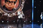 Aditya Narayan on the sets of SAREGAMA on 21st June 2016