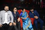 Asha Bhosle, Pritam Chakraborty, Mika Singh, Wajid on the sets of SAREGAMA on 21st June 2016 (45)_57694cb132114.JPG