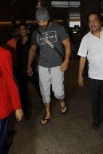John Abraham snapped at airport in Mumbai on 20th June 2016