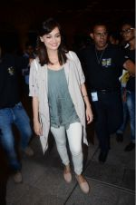 Dia Mirza leaves for IIFA on Day 2 on 21st June 2016(339)_576a22518b1d5.JPG