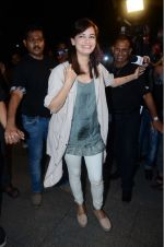 Dia Mirza leaves for IIFA on Day 2 on 21st June 2016(343)_576a2253ba4f9.JPG