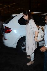 Dia Mirza leaves for IIFA on Day 2 on 21st June 2016(319)_576a2243a2ae4.JPG