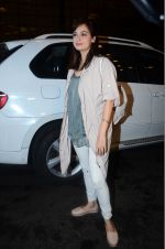 Dia Mirza leaves for IIFA on Day 2 on 21st June 2016(320)_576a224476494.JPG