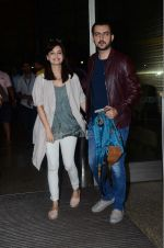 Dia Mirza, Sahil Sangha leaves for IIFA on Day 2 on 21st June 2016
