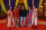 Meera Deosthale, Paras Arora, Vijayendra Kumeria, Salman Khan, Vidhi Pandya, Anushka Sharma promote Sultan on the sets of COLORS show Udaan on 21st June 2016