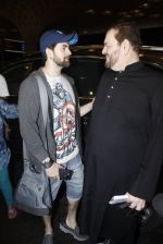 Neil Mukesh, Nitin Mukesh leaves for IIFA on Day 2 on 21st June 2016