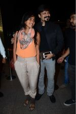 Priyanka Alva, Vivek Oberoi leaves for IIFA on Day 2 on 21st June 2016(399)_576a2321b8c8c.JPG