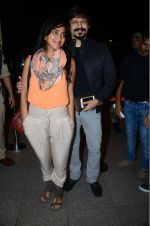 Priyanka Alva, Vivek Oberoi leaves for IIFA on Day 2 on 21st June 2016(406)_576a2323771d9.JPG