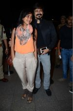 Priyanka Alva, Vivek Oberoi leaves for IIFA on Day 2 on 21st June 2016(408)_576a23240b6f9.JPG