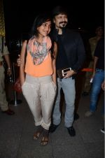 Priyanka Alva, Vivek Oberoi leaves for IIFA on Day 2 on 21st June 2016(412)_576a232528b62.JPG