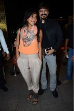 Priyanka Alva, Vivek Oberoi leaves for IIFA on Day 2 on 21st June 2016(418)_576a2329d0477.JPG