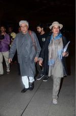 Shabana Azmi, Javed Akhtar leaves for IIFA on Day 2 on 21st June 2016