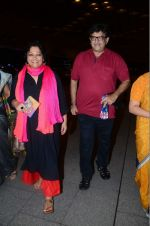 Tanvi Azmi leaves for IIFA on Day 2 on 21st June 2016