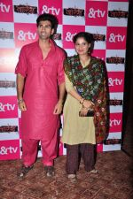 Mohammed Iqbal Khan and Aarti Singh at Waris TV serial launch on 22nd June 2016 (31)_576b873dcb365.JPG