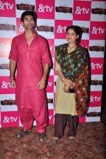 Mohammed Iqbal Khan and Aarti Singh at Waris TV serial launch on 22nd June 2016 (32)_576b87c0b1fae.JPG