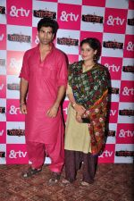 Mohammed Iqbal Khan and Aarti Singh at Waris TV serial launch on 22nd June 2016