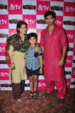 Mohammed Iqbal Khan and Aarti Singh,Sania Touqueer at Waris TV serial launch on 22nd June 2016 (49)_576b874b94e14.JPG