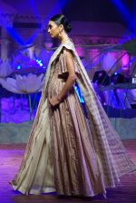 An Ode To Weaves and Weavers Fashion show at HICC Novotel, Hyderabad on June 21, 2016