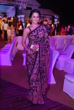 Anita Hassanandani Reddy at An Ode To Weaves and Weavers Fashion show at HICC Novotel, Hyderabad (6)_576bdb80682af.JPG