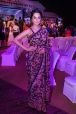 Anita Hassanandani Reddy at An Ode To Weaves and Weavers Fashion show at HICC Novotel, Hyderabad (1)_576bdb775e354.JPG
