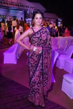 Anita Hassanandani Reddy at An Ode To Weaves and Weavers Fashion show at HICC Novotel, Hyderabad (2)_576bdb78b1ef6.JPG