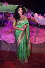 Anjala Zaveri at An Ode To Weaves and Weavers Fashion show at HICC Novotel, Hyderabad on June 21, 2016 (13)_576be24ec53bc.JPG