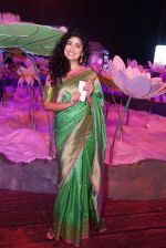 Anjala Zaveri at An Ode To Weaves and Weavers Fashion show at HICC Novotel, Hyderabad on June 21, 2016 (7)_576be23ace74b.JPG