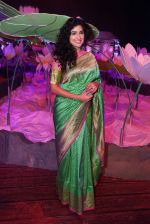 Anjala Zaveri at An Ode To Weaves and Weavers Fashion show at HICC Novotel, Hyderabad on June 21, 2016