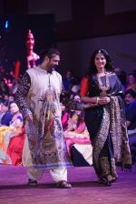 Anushka Shetty at An Ode To Weaves and Weavers Fashion show at HICC Novotel, Hyderabad on June 21, 2016 (11)_576bddc917db1.JPG